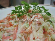 Салат с редькой дайкон - http://emsalat.ru/salad_veget/salat-s-redkoy-daykon.html
