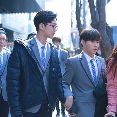 Dan Lin, Yoo Seonho, No Min Woo, Lai Guanlin, Produce 101 Season 2, Woo Young, Kim Jaehwan, Ha Sungwoon, Cube Entertainment