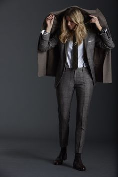 When a lady does menswear better than a man.