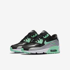 Nike Air Max 90 Leather (3.5y-7y) Big Kids' Shoe