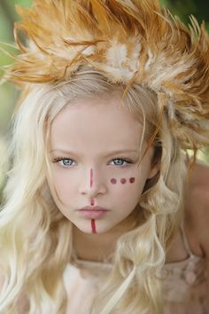 "The Look: Neverland - ""Off to Neverland"" by Amber Bauerle for Child Model Magazine"