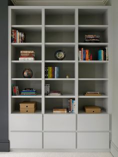 Bookcase And Display Cabinet Storage For A Contemporary Home Office Library E