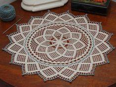 Doily Patterns, Crochet Patterns, Crochet Doilies, Watch V, Mandala, Diy Projects, Knitting, Youtube, Tablecloths