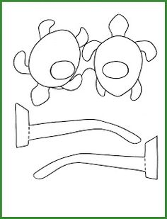Plantilla ulleres de tortuga