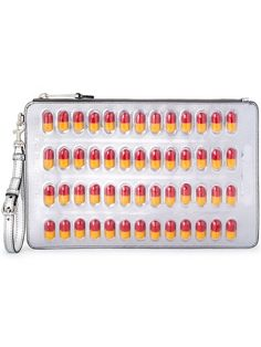 Shop Moschino pill blister pack clutch in Stefania Mode from the world's best independent boutiques at farfetch.com. Shop 400 boutiques at one address.
