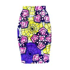 African Print Pencil Skirt - The EDNA Pencil Skirt, African Fabric Pencil Skirt, Ankara Print Mini Skirt, Ankara Print Pencil Skirt