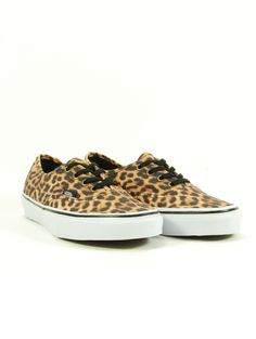 Vans Authentic Leopard/Bk/Brown