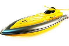 "Sceek.Com - Huge 41"" RC Racing Boat RC Speed Boat Flying Fish"