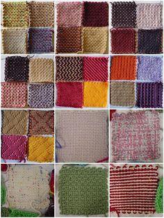Weavette Mosaic Pin Weaving, Loom Weaving, Knifty Knitter, Loom Knitting, Monks Cloth, Swedish Weaving, Weaving Projects, Loom Patterns, Fiber Art