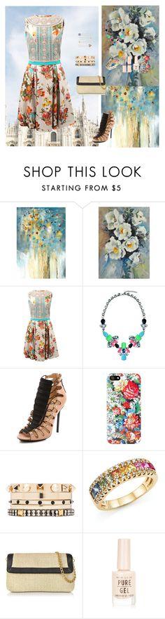 """Beautiful Things"" by oksana-kolesnyk ❤ liked on Polyvore featuring Leftbank Art, Ren-Wil, Blumarine, Lipsy, L.A.M.B., NOVA, Iosselliani, Bloomingdale's, Buti and New Look"