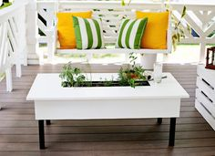 Your porch can be so much more than just a landing pad on the way in or out of your house—it can be a place to unwind, entertain, and make a great first impression. From cool built-ins to surprising paint touches and more, consider one of these inventive porch ideas that'll have you thinking way beyond the welcome mat.