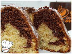 Κλασικο,αγαπημενο,μαμαδιστικο κεικ,βανιλια-κακαο μυρωδατο, για το γαλα το τσαι τον καφε!!! Απολαυστε το!!! Greek Desserts, Chiffon Cake, Sweet Recipes, Banana Bread, French Toast, Muffin, Sweets, Favorite Recipes, Cooking