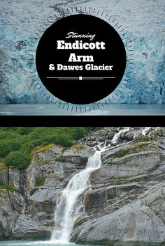 Check out this true Alaskan gem!  The Endicott Arm Fjord is home to the Dawes Glacier, seals, humpback whales, bald eagles and dozens of waterfalls.  It's a must see!