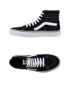 new style cc50a aa141 YOOX.Core.Meta.SeoTag High Top Vans, Black High Top Sneakers,