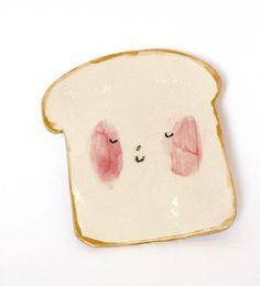 Toast-Platte von CharlotteMei auf Etsy