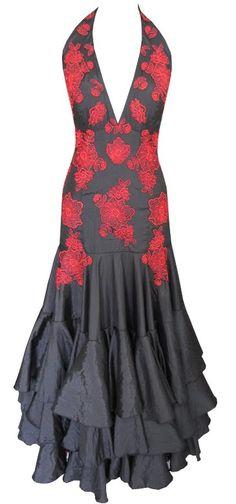 Resultado de imagem para vestido dança flamenca