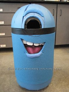 Coolest Homemade Despicable Me Minion Costume ... This website is the Pinterest of costumes