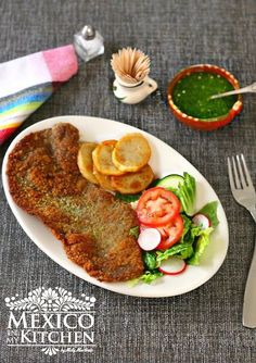How to make beef milanesa an easy recipe from argentina food mexican milanesa recipe a step by step photo tutorial with delicious results forumfinder Gallery