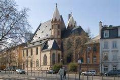 De Leonhardskirche in Frankfurt in de moderne tijd, Goethe heeft een tekening van deze kerk gemaakt toen hij nog in Frankfurt bij zijn ouders woonde