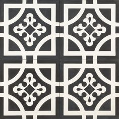 Black Indian Earth Tile by Jatana Interiors, to suit any interior. Fireplace Hearth Tiles, Cottage Fireplace, Art Deco Bathroom, Master Bathroom, Deco Restaurant, Wood Table Design, Black Indians, Persian Motifs, Feature Tiles