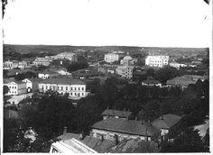 Kuva: Näkymä Turusta, Carl Johan Schoultz 1900-1920, Åbo Akademis bildsamling.
