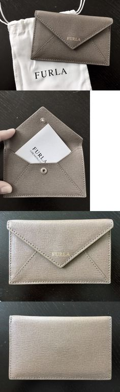 Women Bags And Accessories: Furla Saffiano Leather Envelope-Style Card Case Coin Purse Wallet, Nwt!!!! -> BUY IT NOW ONLY: $39.99 on eBay!