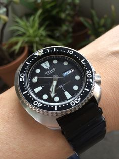 My first list watch I bought  #seiko  #diver's watch