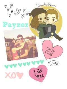 """""""I miss payzer :'( ship you guys forever <3"""" by sarase ❤ liked on Polyvore featuring Payne"""