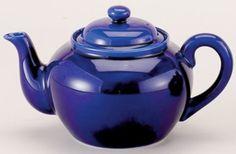 6 Cup Cobalt Blue Ceramic Tea Pot with Infuser 71/372 6C