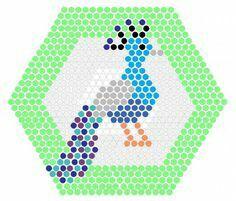 Peacock beados design