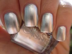 I have always loved and worn pearl nail polish! So classic! This one is a great one from Essie!