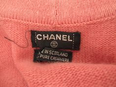 Chanel Cashmere Cardigan w/Rhinestone Buttons image 6