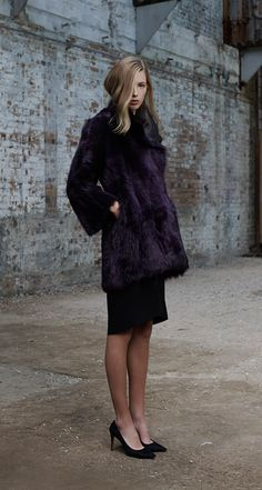 Scanlan Theodore Toscana Cocoon Coat and Double Weave Pencil Skirt