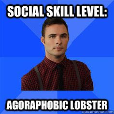But he's HER lobster! <---- Haha! One of the funniest lines! Agoraphobic lobster! Seriously, who comes up with this stuff! ❤️