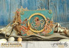 Mini-album-tag-Voyage Beneath the Sea- by Lena-Astafeva-product by Graphic 45 (10 из 38)                                                                                                                                                      More