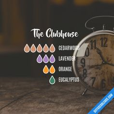 The Clubhouse - Essential Oil Diffuser Blend