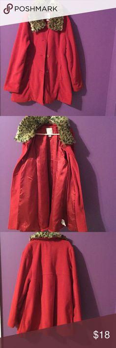 Light blazer jacket Red finish blazer jacket with satin red inside Children's Place Jackets & Coats Blazers