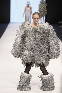 Bjorn to be wild: The weird world of Swedish haute couture | Unless you're going to a Trekkie convention, you probably don't want to dress as a tribble. Photo: Andreas Rentz, Getty Images