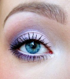 Liac spirng makeup...don't bring the purple that far...try stopping at the very outer edge(not a fan and looks tots not cute in my opinion)