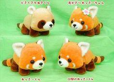 red panda plush: