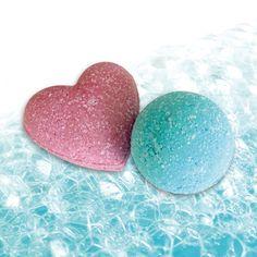 schäumende Badekugeln - Rezept von Spinnrad Bath Salts, Cocoa Butter, Recipe, Ideas