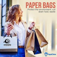 Protect the environment, cut down toxic waste. #bags #paperbag #fashion #Trending #wholesale #PROMOTION #marketing #Giveaways #branding #giftideas #gifts #advertising #shopping #paperbags Paper Bags Wholesale, Print On Paper Bags, Promotional Bags, Picnic Bag, Promotion Marketing, Giveaways, Prints, Advertising, Environment