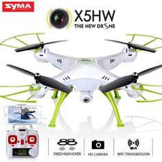 Original Syma X5HW (X5SW Upgrade) FPV RC Drone with WiFi Camera  #Simple #Fast #Console #Quick #Easy #Games #Now  #Accessories #Game #Computer #Gamer #Gaming #Awesome #Gadget #New