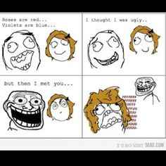 Troll Face Poem