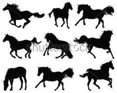 Resultado de imagen para vectores de caballos