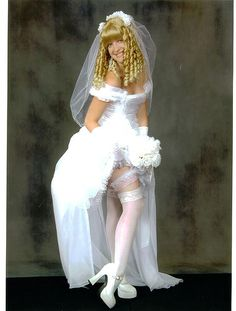 Diaper of brides bridal wearing a images