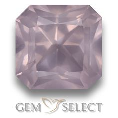 GemSelect features this natural untreated Rose Quartz from South Africa. This Pink Rose Quartz weighs 5.4ct and measures 10.6 x 10.5mm in size. More Octagon / Scissor Cut Rose Quartz is available on gemselect.com #birthstones #healing #jewelrystone #loosegemstones #buygems #gemstonelover #naturalgemstone #coloredgemstones #gemstones #gem #gems #gemselect #sale #shopping #gemshopping #naturalrosequartz #rosequartz #pinkrosequartz #octagongem #octagongems #pinkgem #pink Pink Gemstones, Loose Gemstones, Natural Gemstones, Buy Gems, Light Pink Rose, Gem S, Gemstone Colors, Stone Jewelry, Rose Quartz