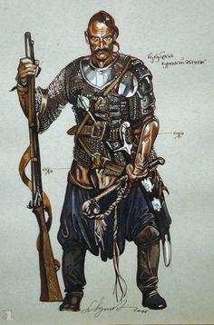 A Ukrainian Cossack.