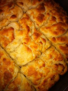 HOLY SMOKES! These are good! But definitely not healthy! These biscuits are easy to make AND AMAZING! My boys ate them right up! There wasn't a single one left!