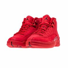eac256f906c297 Nike Air Jordan Retro XII 12 GYM RED 2018 Black Bulls Toro  nike   BaseballShoes